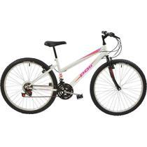 Bicicleta Polimet MTB Aro 26 Feminina Branca -