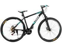 Bicicleta QGK B29-GT Aro 29 21 Marchas - Suspensão Dianteira Câmbio Shimano