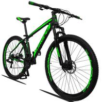 Bicicleta Quadro 19 Aro 29 Alumínio 21 Marchas Freio a Disco Z3 - Dropp -