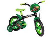 Bicicleta Radical Kid Aro 12 Verde E Preta Menino 3 A 5 Anos - Styll