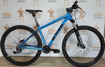 Bicicleta RAVA Cave 29 - 18v Shimano Alívio - Freio Hidráulico - Suspensão com trava no Guidão -