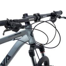 Bicicleta rava pressure 20v aro 29 tam.17 cinza e preto -