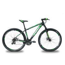 Bicicleta RINO ATACAMA 29 Freio Hidraulico - Shimano Acera com Trava 27v - Rino-correta