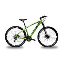 Bicicleta RINO EVEREST 29 Freio a Disco - Cambios Shimano 24v com Trava - Rino-correta