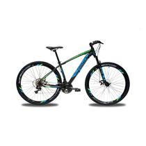 Bicicleta RINO EVEREST 29 Freio Hidraulico - Shimano Acera com Trava 27v - Rino-correta