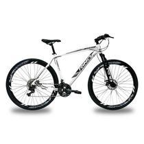 Bicicleta RINO EVEREST 29 Freio Hidraulico - Shimano Altus com trava 24v - Rino-correta