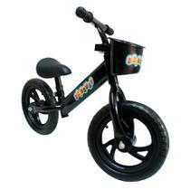 """Bicicleta Sem Pedal 12"""" Importway Balance BW152PT Preto -"""