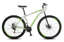 Bicicleta Snow Neon MTB Aro 29 Aero 21 Marchas Freios a Disco - 435 -