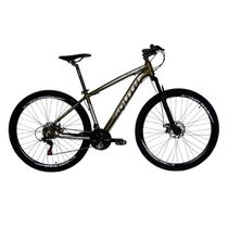 Bicicleta South 21 Marchas Freios Disco Quadro Aluminio Susp -