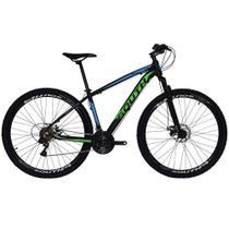 Bicicleta SOUTH BIKE Alumínio 21 Velocidades Aro 29 Câmbio Shimano Preto, Azul e Verde Q19 -