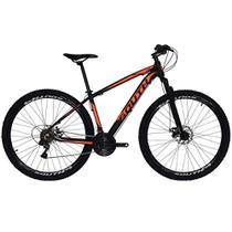 Bicicleta SOUTH BIKE Alumínio 21 Velocidades Aro 29 Câmbio Shimano Preto e Laranja Q17 -