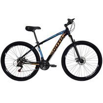 Bicicleta SOUTH BIKE Alumínio 21 Velocidades Aro 29 Preto, Laranja e Azul Q17530004 -
