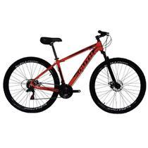 Bicicleta SOUTH BIKE Alumínio 21 Velocidades Aro 29 Vermelha Q19530018 -