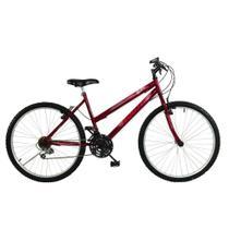 Bicicleta SOUTH BIKE Hunter 18 Velocidades Aro 26 Vermelha -