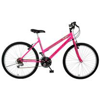 Bicicleta South Mountain Bike, 18 marchas, Aro 26, Branco -