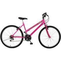 Bicicleta South Mountain Bike,  Aro 26, 18 marchas, Rosa -