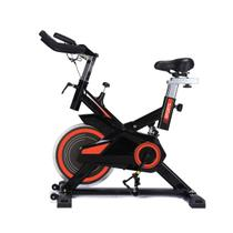 Bicicleta spinning freecycle 7800 - preto e laranja -