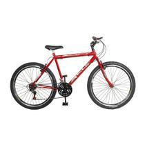 Bicicleta Sport Gold Aro 26 Freios V.Brake Quadro em Aço Carbono KLS -