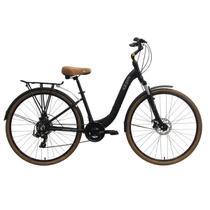 Bicicleta tito urban premium id disc 2019 - preto fosco -
