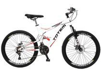 Bicicleta Totem Dp. Suspensão Aro 26 21M Kit Shimano Freios á Disco 36 Raias - 850.05D - Colli