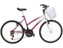 Bicicleta Track  Bikes Parati Aro 24 18 Marchas  - Quadro de Aço Freio V-Brake