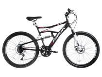 Bicicleta Track & Bikes TB 500 Aro 26 21 Marchas - Suspensão Dianteira Quadro de Aço Freio à Disco