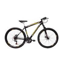 Bicicleta Track & Bikes TB Niner Mountain, Aro 29, 21 marchas, Dupla Suspensão, Preta -