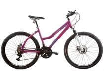 Bicicleta Track & Bikes TK 450 Aro 26 21 Marchas - Câmbio Shimano Quadro Alumínio Freio à Disco