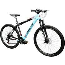 Bicicleta Track & Bikes Troy 29PB Aro 29 Alumínio com 21 Marchas  Azul e Preta -