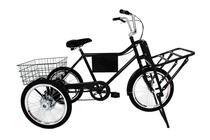 Bicicleta Triciclo de Carga Com Marchas e Freios A Disco - Casa Do Ciclista