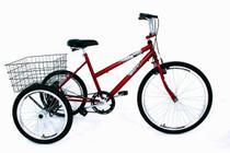 Bicicleta Triciclo Luxo Aro 26 Completo - Casa Do Ciclista