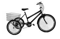 Bicicleta Triciclo Luxo Aro 26 Completo Com 21 Marchas - Casa Do Ciclista