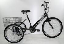 Bicicleta Triciclo Luxo Aro 26 Completo Com 21 Marchas Rebaixado - Casa Do Ciclista