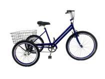 Bicicleta Triciclo Luxo Aro 26 Completo Rebaixado - Casa Do Ciclista