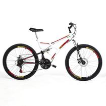 Bicicleta Tridal Full Suspensão aro 26 36 Raios Freios a Disco - Tridal Bike