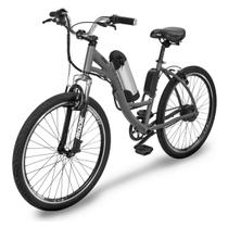 Bicicleta Two Dogs Aro 26 Slim Cinza Elétrica -