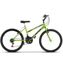 Bicicleta ultra aro 24 feminina freio v break chrome line - Ultra Bikes