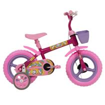 Bicicleta unicórnio aro 12 feminina athor - cd -