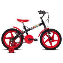 Bicicleta Verden Bikes Rock Aro 16 Preto E Vermelha -