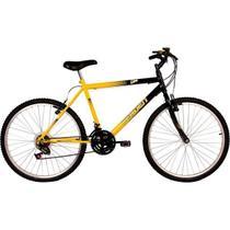 Bicicleta Verden Live Aro 26 18V Preto/Amarelo 10127 -
