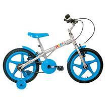 Bicicleta Verden Rock Aro 16 Infantil Prata/Azul 10436 -