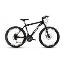 Bicicleta Vikingx 55 Aro 26 Freio À Disco 24 Marchas -