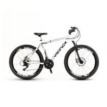 Bicicleta Vikingx 55 Aro 26 Freio À Disco 27 Marchas -