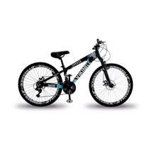 Bicicleta Vikingx Tuff 25 Freeride Aro 26 Freio À Disco 21 Marchas -