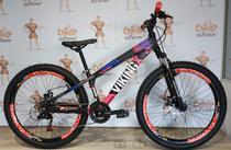 Bicicleta VIKINGX Tuff X-25 aro 26 - 21v Shimano - Freio a Disco -