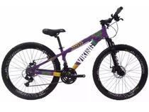Bicicleta VikingX Tuff25 Aro 26 Shimano 21v Freio a Disco -