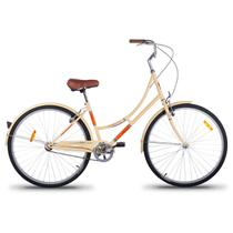 Bicicleta Vintage Retrô Imperial Aro 26 1V Shimano Bege - Mobele