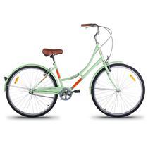 Bicicleta Vintage Retrô Imperial Aro 26 1V Shimano Verde - Mobele