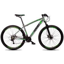 Bicicleta Volcon Quadro 21 Aro 29 Alumínio 21v Câmbio Tras. Shimano Freio Mecânico Cinza - GT Sprint -
