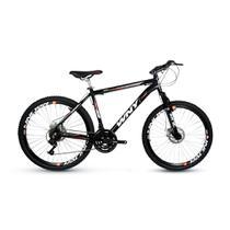 Bicicleta Wny Aro 26 Freio À Disco 24 Marchas Preta -